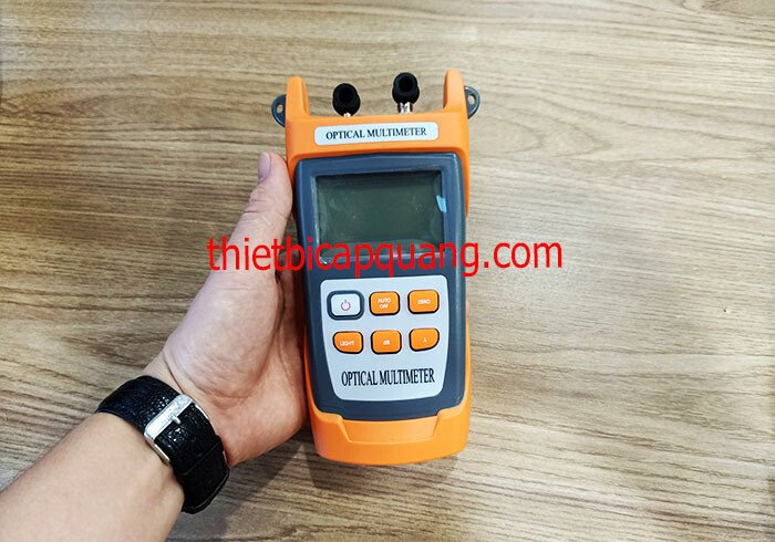 Tìm hiểu về máy đo công suất quang 2 cổng KING-30S