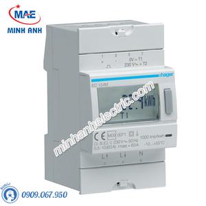 Timer 24h Hager - Model EC154M dòng Push Button