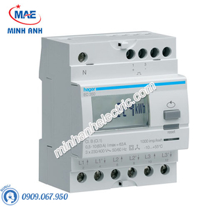 Timer 24h Hager - Model EC350 dòng Push Button