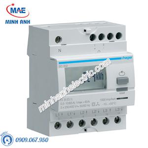 Timer 24h Hager - Model EC352 dòng Push Button
