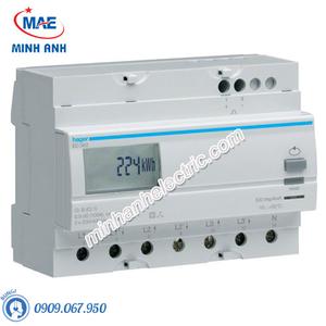 Timer 24h Hager - Model EC362 dòng Push Button