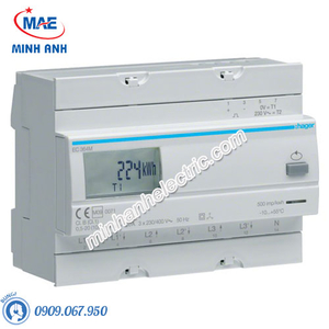 Timer 24h Hager - Model EC364M dòng Push Button