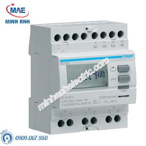 Timer 24h Hager - Model EC372 dòng Push Button