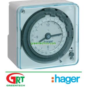 Timer Hager EH7111 | Bộ đếm thời gian Hager EH7111 | Hager Vietnam | Đại lý phân phối Hager Vietnam