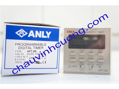 Timer relay 24h anly APT-8S