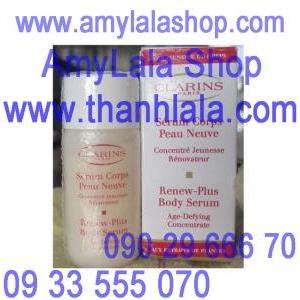 Tinh chất dưỡng trắng da toàn thân Clarins Renew-Plus Body Serum 10ml - 0933555070 - 0902966670