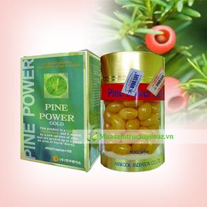 Tinh dầu thông đỏ hàn quốc - pine power gold điều trị ung thư, viêm xoang...