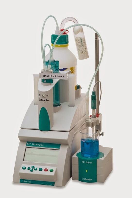 Máy chuẩn độ Karl Fischer xác định độ ẩm 870 Titrino Plus
