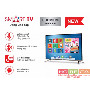 Tivi UBC 40 inch T2, Full HD, Smart (Voice + Bluetooth)