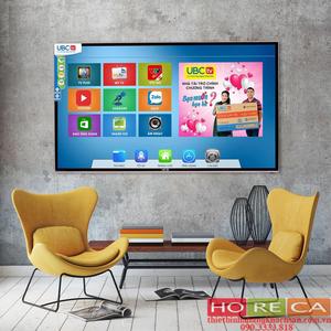 Tivi UBC 50 inch T2 Full HD, Smart, Cường lực