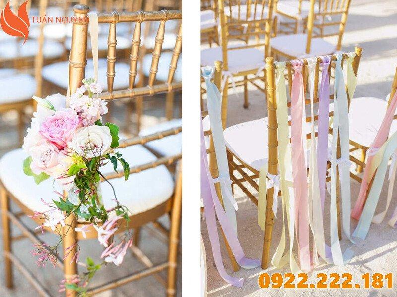Cho thuê bàn ghế đám cưới, sự kiện giá rẻ tại TP.HCM