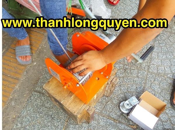 TỜI QUAY TAY 1 TẤN NITTO MODEL HW-1000
