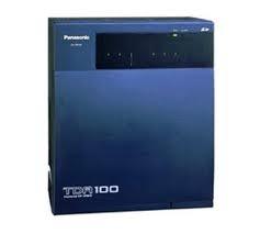 Tổng đài điện thoại Panasonic KX-TDA100D - 8 vào 48 máy lẻ