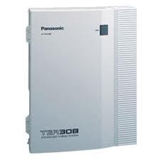 Tổng đài Panasonic KX-TEB308 3 vào 8 máy lẻ - Không mở rộng