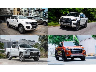 Top xe bán tải tháng 5/2021: Cuộc đua cho vị trí thứ 2
