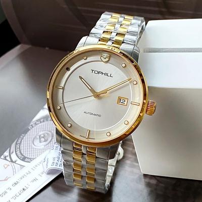 Đồng hồ nam tự động TOPHILL TW073G-AAW chính hãng