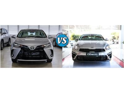 Toyota Vios G và Kia Cerato 1.6 Luxury: xe Nhật hạng B hay xe Hàn cỡ C