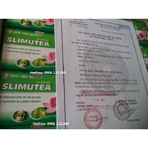 Trà giảm cân, mỡ máu túi lọc Slimutea