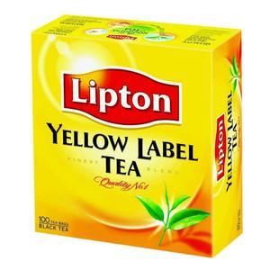 Trà Lipton Nhãn Vàng - 100 Gói