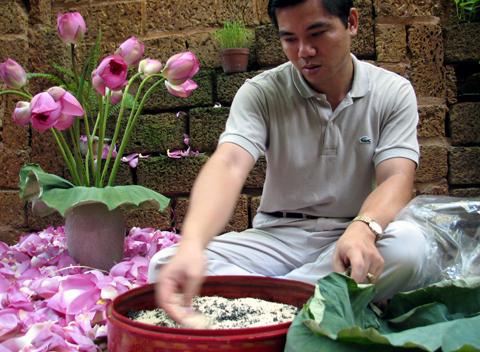 Trà sen cổ Hà Thành( kg)
