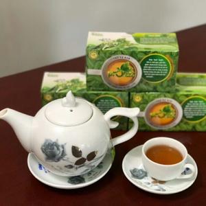 Trà xạ đen PROTEA (gạo lức, rau má, trinh nữ hoàng cung, trà xanh, cỏ ngọt)