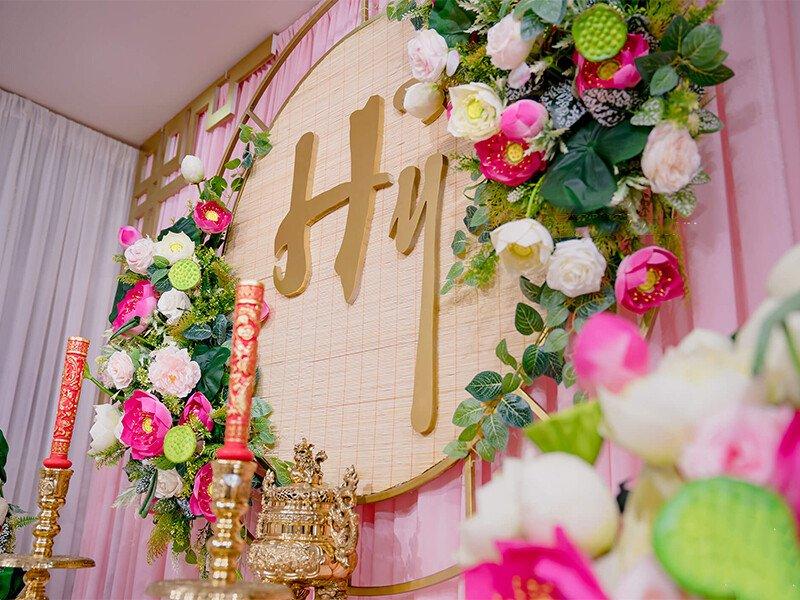 Dịch vụ trang trí tiệc cưới – trang trí bàn thờ gia tiên giá rẻ tại Quận 4, TP.HCM