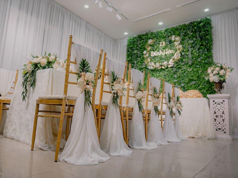 Dịch vụ trang trí tiệc cưới giá rẻ tại TP.HCM