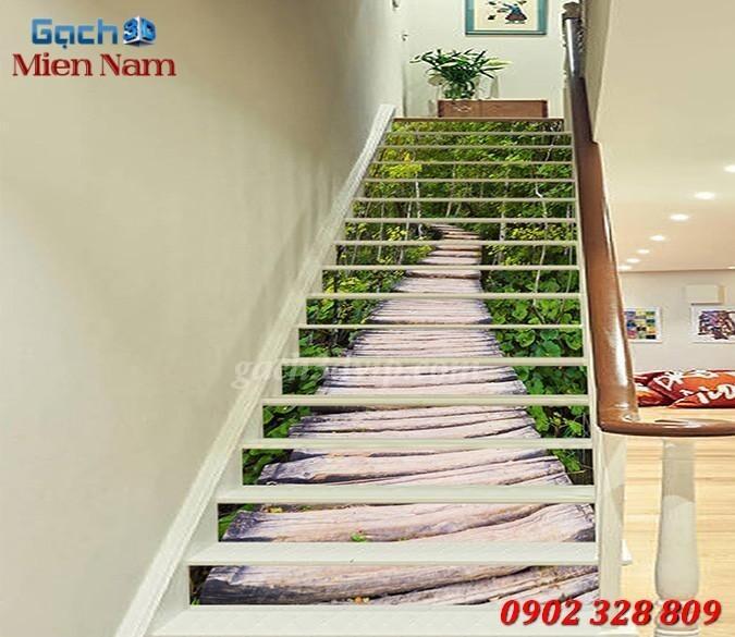 Tranh 3D Dán Cầu Thang GCT261