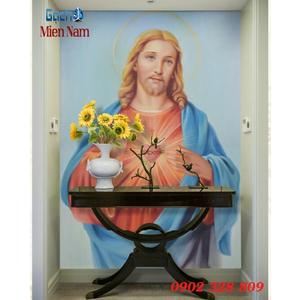 Tranh 3d Hình Thiên Chúa Giáo TCM04
