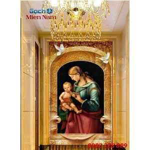 Tranh 3d Hình Thiên Chúa Giáo TCM11
