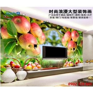 Tranh 3d hình trái cây TCM35