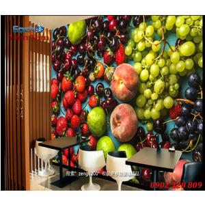 Tranh 3d hình trái cây TCM41