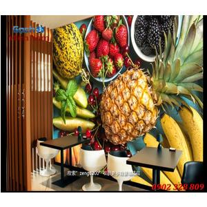 Tranh 3d hình trái cây TCM46