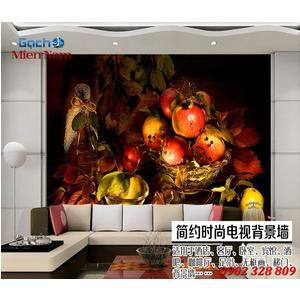 Tranh 3d hình trái cây TCM49