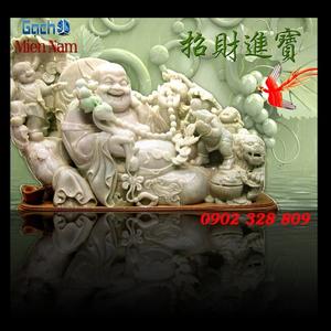 Tranh 3d Phật Di Lặc PDL58