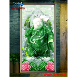 Tranh 3d Phật Di Lặc PDL61