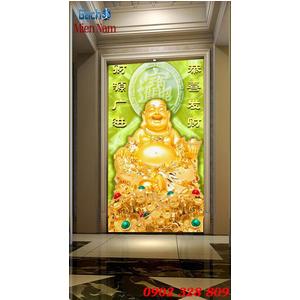 Tranh 3d Phật Di Lặc PDL67