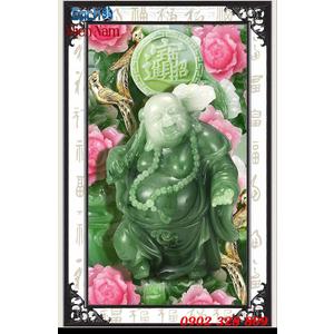 Tranh 3d Phật Di Lặc PDL70