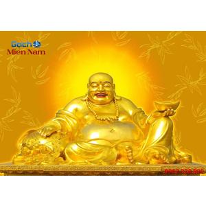 Tranh 3d Phật Di Lặc PDL86