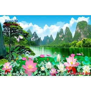 Tranh 3d Phong cảnh PCM289