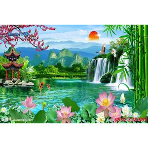 Tranh 3d Phong cảnh PCM290