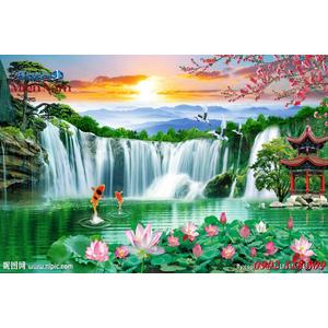 Tranh 3d Phong cảnh PCM292