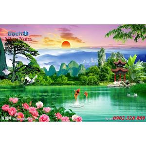 Tranh 3d Phong cảnh PCM294