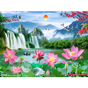 Tranh 3d Phong cảnh PCM295