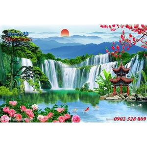 Tranh 3d Phong cảnh PCM301