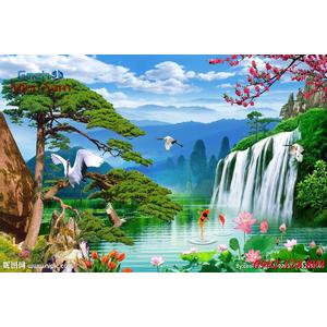Tranh 3d Phong cảnh PCM302