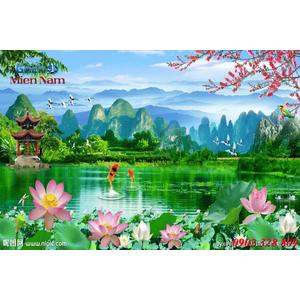 Tranh 3d Phong cảnh PCM304