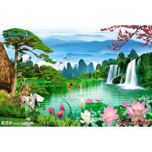 Tranh 3d Phong cảnh PCM306