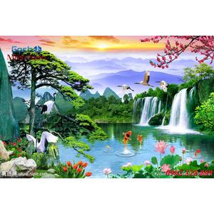 Tranh 3d Phong cảnh PCM307