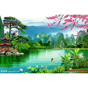 Tranh 3d Phong cảnh PCM310